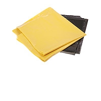 Yellow trash sacks
