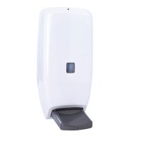 Dispenser for liquid soap with an elbow drive 1000 ml